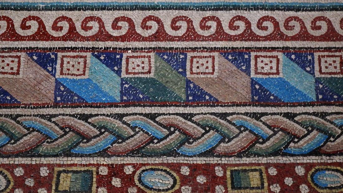 mosaici santa maria della croce casaranello