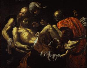 Battistello Caracciolo - Cristo morto trasportato al sepolcro