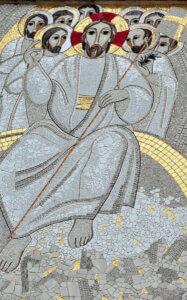 mosaico chiesa nostra signora santissimo sacramento