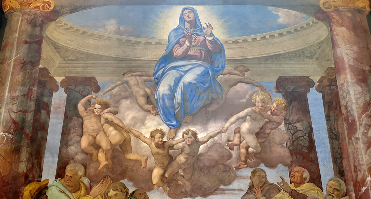 daniele da volterra assunzione trinità dei monti roma