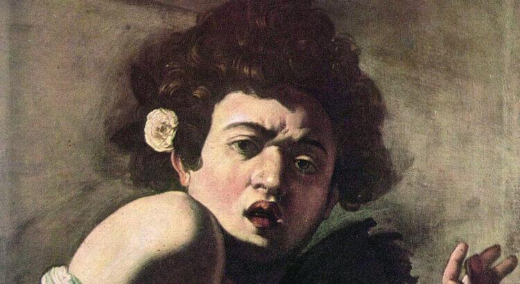 Caravaggio Ragazzo morso da un ramarro Fondazione Longhi
