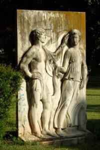 eur parco turismo statue aroldo bellini