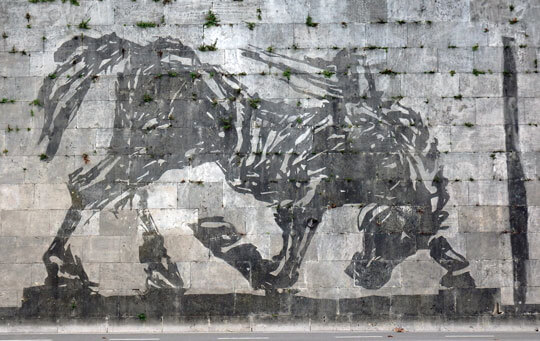 william kentridge murales roma