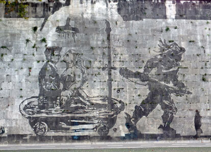 kentridge murales roma